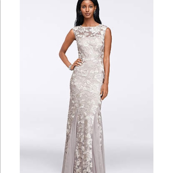 0d090379fad NAVY Alex evenings mother of the bride formal gown